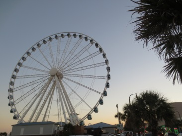 The SkyWheel, one of the tallest ferris wheels in the country