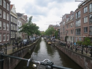Bikes surrounding the canals in Amsterdam