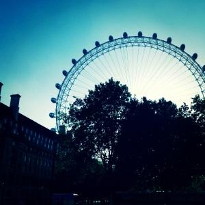 Beautiful views of downtown London await you on its famed London Eye