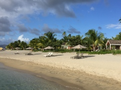 From the beach - Nevis
