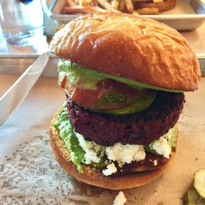 Butcher & Bee's veggie burger