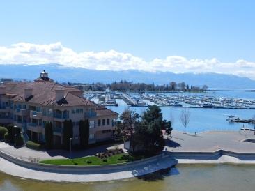 Waterfront, lake, boardwalk, water
