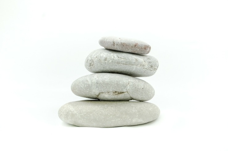 Stones, balance, meditate
